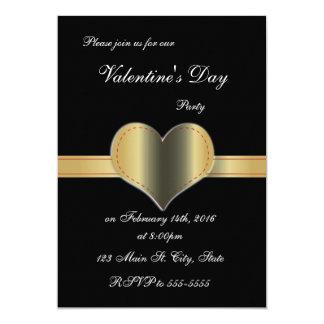 Invitaciones del el día de San Valentín del marco Invitación 12,7 X 17,8 Cm