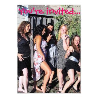 Invitaciones del fiesta de Bachelorette Comunicados Personales