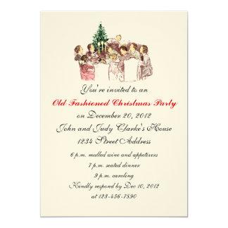 Invitaciones del fiesta de cena de navidad del invitación 12,7 x 17,8 cm