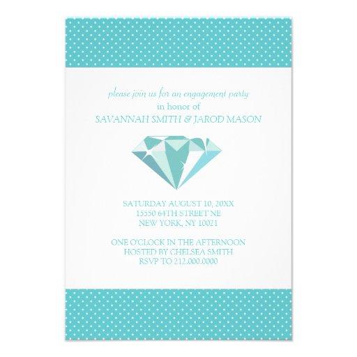 Invitaciones del fiesta de compromiso (trullo) invitacion personal