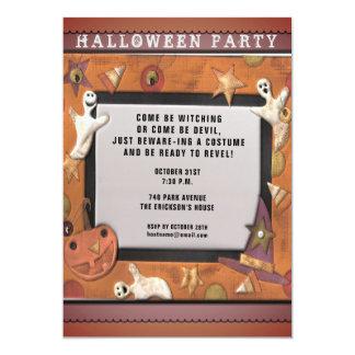 Invitaciones del fiesta de Halloween