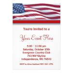 Invitaciones del fiesta de la campaña electoral de invitacion personalizada