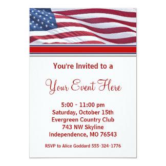 Invitaciones del fiesta de la campaña electoral de