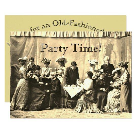 Invitaciones del fiesta de la reunión del invitación 12,7 x 17,8 cm