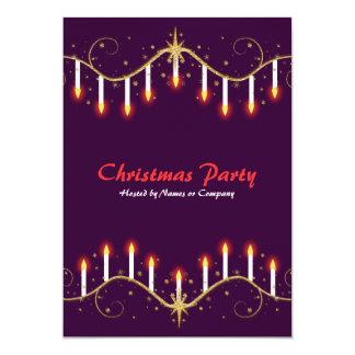 Invitaciones del fiesta de las velas de los días invitación 12,7 x 17,8 cm