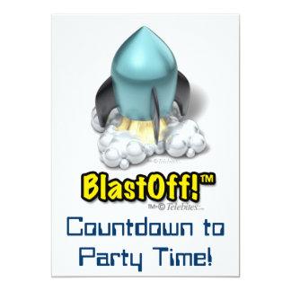 Invitaciones del fiesta del icono de Launcher™ Invitación 12,7 X 17,8 Cm