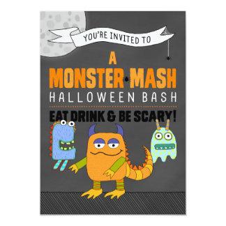 Invitaciones del golpe de Halloween del puré del Invitación 12,7 X 17,8 Cm