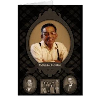 invitaciones del monumento de la foto de familia tarjeta de felicitación