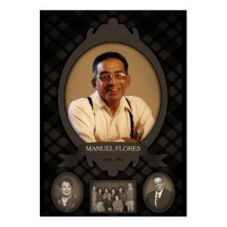 invitaciones del monumento de la foto de familia tarjetas de visita grandes