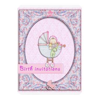 invitaciones del nacimiento invitación 12,7 x 17,8 cm