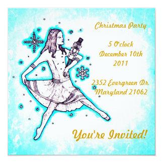 Invitaciones del navidad invitación 13,3 cm x 13,3cm