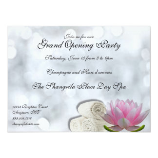Invitaciones del personalizado de la gran invitación 16,5 x 22,2 cm