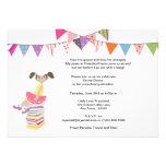 Invitaciones del preescolar o de la guardería anuncios personalizados