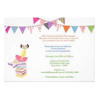 Invitaciones del preescolar o de la guardería