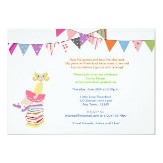 Invitaciones del preescolar o de la guardería invitacion personalizada