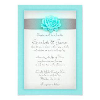 Invitaciones del trullo y de la bodas de plata invitación 12,7 x 17,8 cm