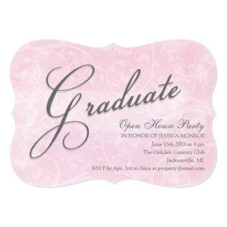 Invitaciones delicadas del fiesta de casa abierta invitación 12,7 x 17,8 cm