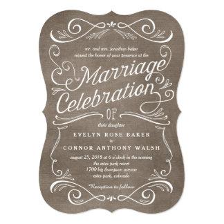 Invitaciones Editable del boda del color de las Invitación 12,7 X 17,8 Cm