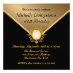 Invitaciones elegantes del fiesta de las señoras d invitaciones personales