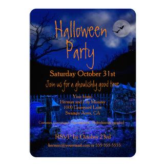 Invitaciones fantasmagóricas del fiesta de