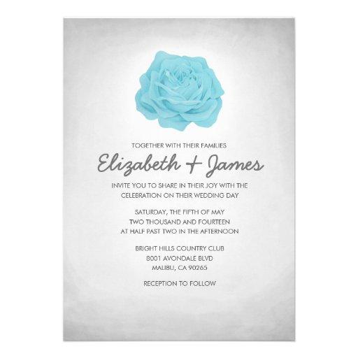 Invitaciones florales de moda de la bodas de plata invitación personalizada