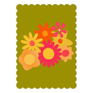invitaciones florales del boda del verde del rosa invitación 12,7 x 17,8 cm