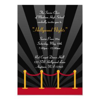 Invitaciones formales del baile de fin de curso de invitación 11,4 x 15,8 cm