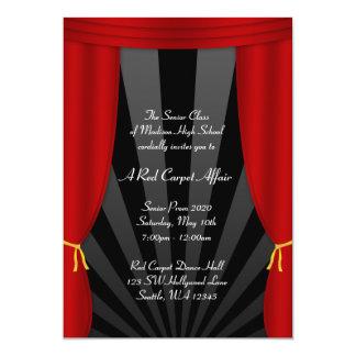 Invitaciones formales del baile de fin de curso invitación 12,7 x 17,8 cm