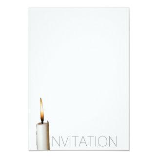 Invitaciones fúnebres invitación 8,9 x 12,7 cm
