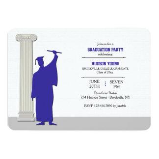 Invitaciones graduadas invitación 12,7 x 17,8 cm