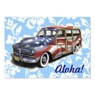 Invitaciones hawaianas del fiesta de Woody de la Invitación 12,7 X 17,8 Cm