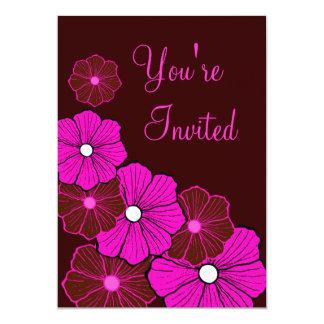 Invitaciones hawaianas tropicales del fiesta del invitación 12,7 x 17,8 cm