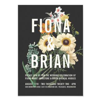 Invitaciones ideales botánicas del boda