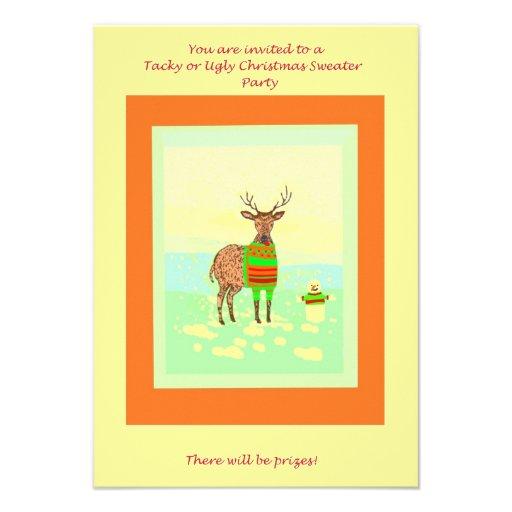 Invitaciones inTacky de la fiesta de Navidad del s Anuncio