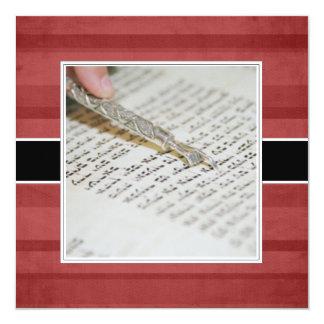Invitaciones/invitaciones de Mitzvah de la barra Anuncio