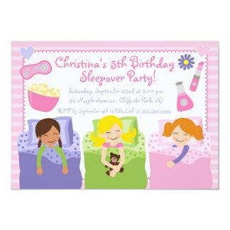 Invitaciones lindas de la fiesta de cumpleaños del invitación 12,7 x 17,8 cm