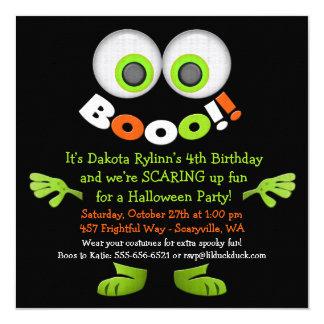 Invitaciones lindas de la fiesta de cumpleaños del invitación 13,3 cm x 13,3cm