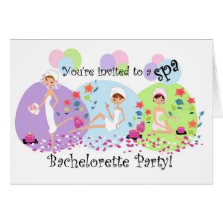 Invitaciones lindas del balneario del fiesta de