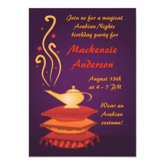 Invitaciones mágicas árabes del fiesta de la invitación 11,4 x 15,8 cm
