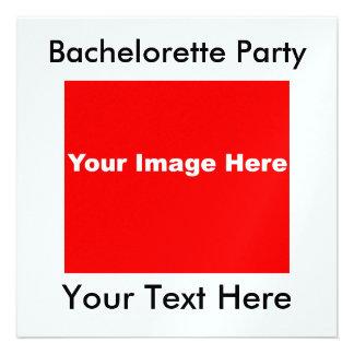 Invitaciones metálicas del fiesta del hielo de Bac Invitación Personalizada