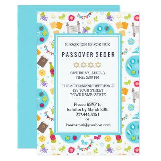 Invitaciones modernas coloridas de Sedar del Invitación 12,7 X 17,8 Cm