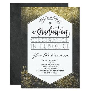 Invitaciones modernas de la celebración del invitación 12,7 x 17,8 cm
