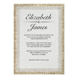 Invitaciones negras y blancas del boda de la arpil