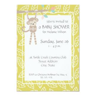 Invitaciones neutrales de la fiesta de bienvenida invitación 11,4 x 15,8 cm