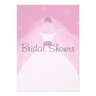 Invitaciones nupciales de la ducha comunicados personales