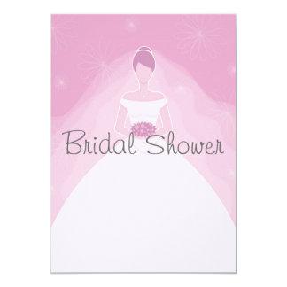 Invitaciones nupciales de la ducha invitación 12,7 x 17,8 cm