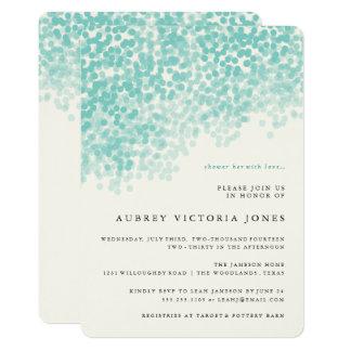 Invitaciones nupciales de la ducha de la ducha invitación 12,7 x 17,8 cm
