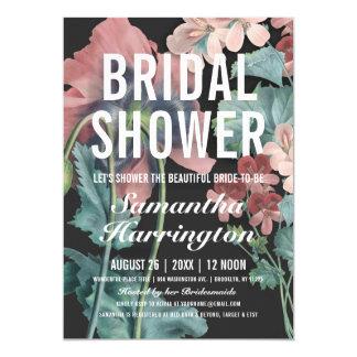 Invitaciones nupciales de la ducha del abrazo