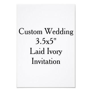 Invitaciones nupciales de la ducha del boda de invitación 8,9 x 12,7 cm