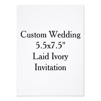 Invitaciones nupciales de la ducha del boda de invitación 13,9 x 19,0 cm